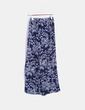 Pantalón palazzo azul marino floral Vero Moda