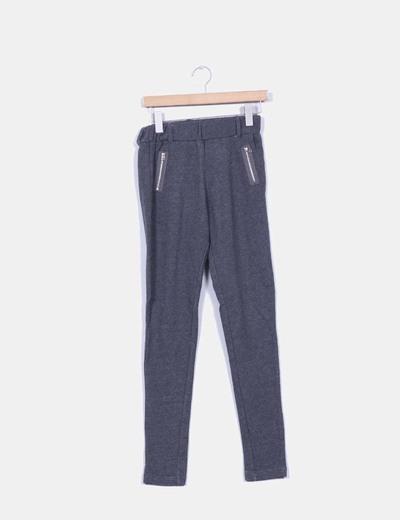 Pantalón gris deportivo Springfield