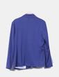 Blazer recta azul marino con bolsillos Venca
