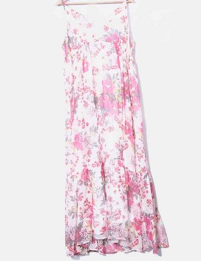 Robe maxi à fleurs H&M
