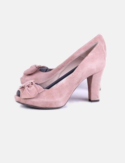 8b2447875cb descuento Micolet Unisa con 87 ante Zapatos rosa de tacón aTAxqO7Yw