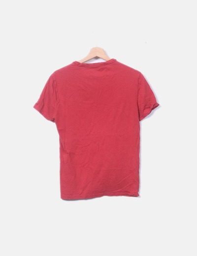 02b66736c Polo Ralph Lauren Camiseta roja (descuento 76%) - Micolet