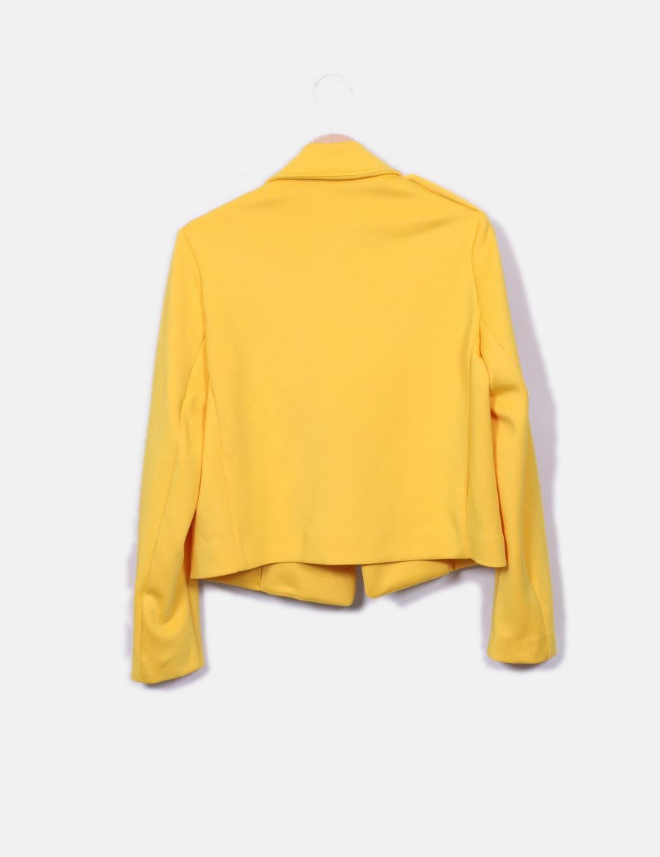 454a89c10c1 ... Cazadora Mujer Stradivarius amarillo Abrigos neopreno online Chaquetas  y biker baratos de 6qr6w1A