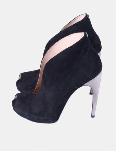 Guess Abotinado 87Micolet Zapato Negro Tacón Metalizadodescuento ZiuPkX