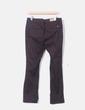 Pantalón recto marrón oscuro NoName