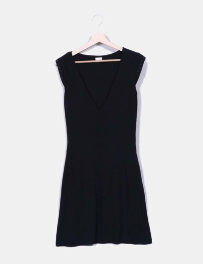 Vestido negro sin mangas Diesel