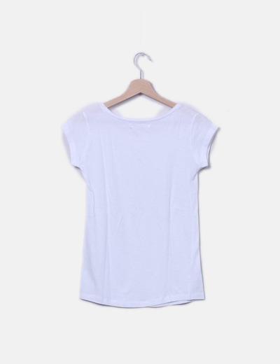 58954b914 Lefties Camiseta blanca lisa (descuento 58%) - Micolet