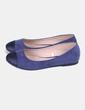 Ballerine bleu orteil paillettes Lefties