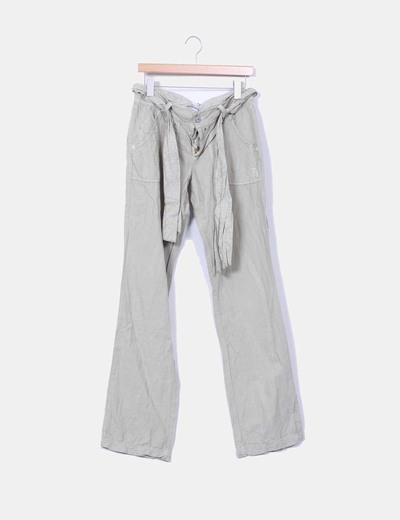 Pantalón recto de algodón Freesoul