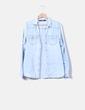 Light denim shirt with pockets Lefties