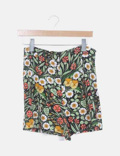 Faldapantalón print floral