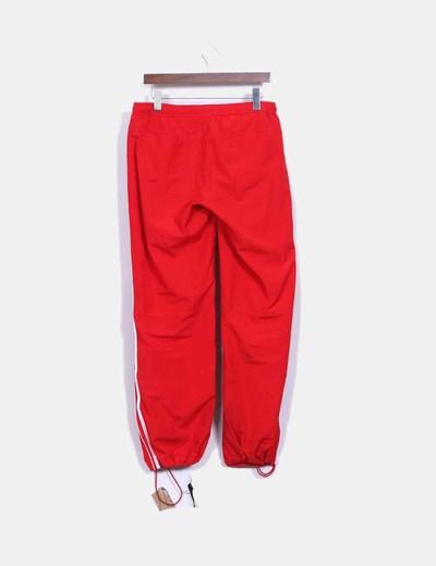 Rayas descuento Con Rojo Blancas Nike Deportivo 77 Micolet Pantalón aq4zOz
