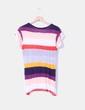 Top rayas multicolor oversize Zara