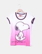 Camiseta print Snoopy Mango