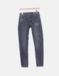 Jeans denim skinny gris Zara