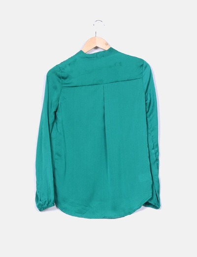 Blusa verde lazo