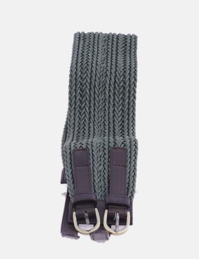 Cinturón bicolor doble hebilla