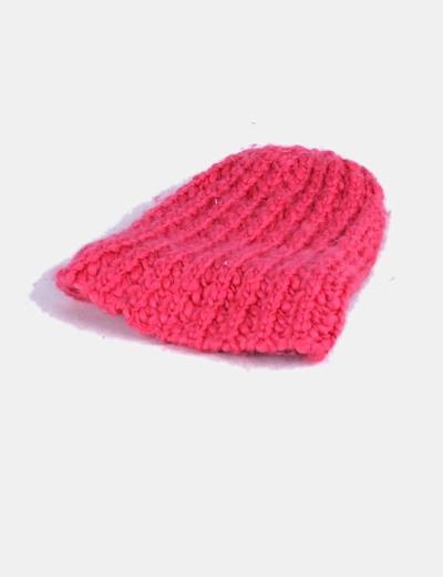 H M Gorro lana rosa (descuento 73%) - Micolet 7e3c587dfe9