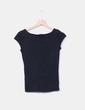 Camiseta negra básica Zara