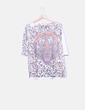 Camiseta print leopardo NoName