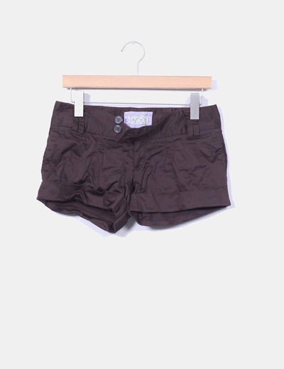 Short marrón Pull&Bear