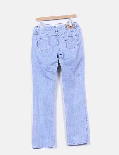 Pantalon vaquero en tono claro