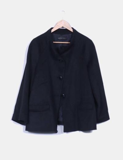 Abrigo lana purificacion garcia