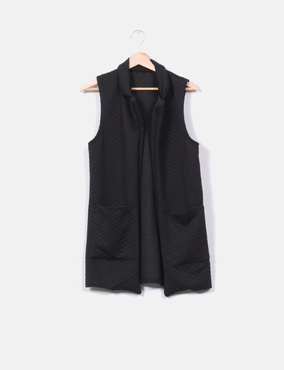 NoName Schwarze gesteppte Pullover ohne Ärmel (Rabatt 61 %) - Micolet 16b35bf7bd