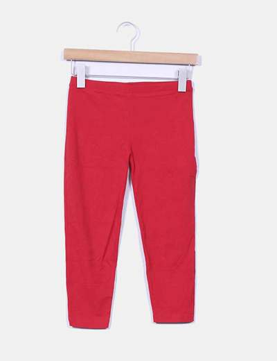 Leggings pirata rojos Stradivarius