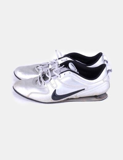Deportivas shox Frenzi Nike plata Nike