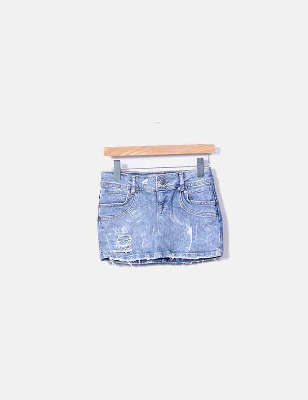 11da6f1821 vaquera Faldas online Mini Bershka falda baratas w58Hzqx0Zn ...