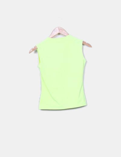 Camiseta verde fluor