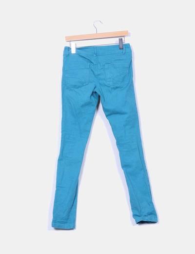 Pantalon turquesa