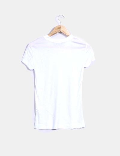 147627af207e7 Zara Camiseta básica blanca (descuento 55%) - Micolet