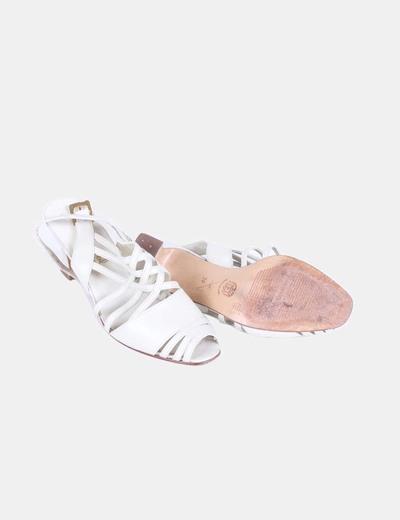 Sandalia beige tiras