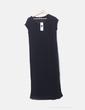 Maxi vestido negro Tex