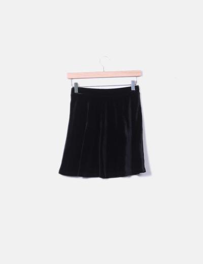 f13863ef5bfa0 Melville Mini falda negra terciopelo (descuento 49%) - Micolet
