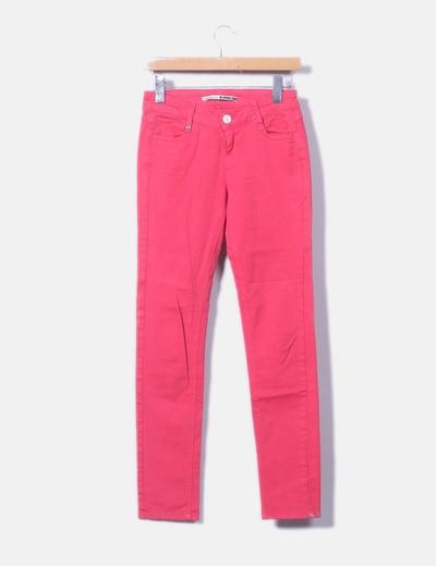 Pantalón chino rosa fucsia