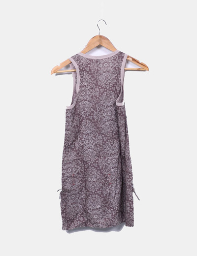 Blusa floral peplum