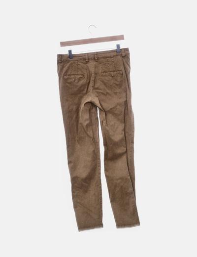 nuevo lanzamiento novísimo selección comprar online Pantalón chino camel