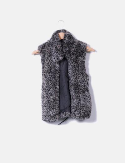 Chaleco descuento Micolet 66 Print De Pelo Zara Animal fvZTwTqa