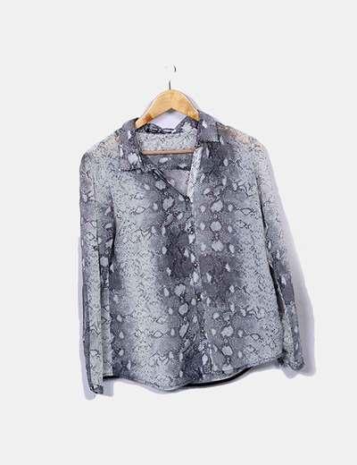 Camisa animal print Rac & Tac