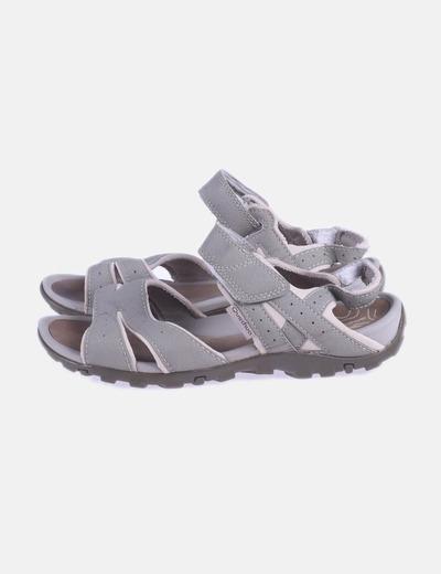 Sandalia trecking kaki