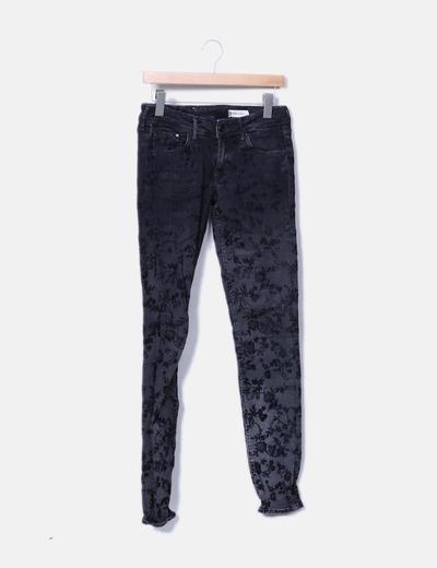 Jeans floraux H&M