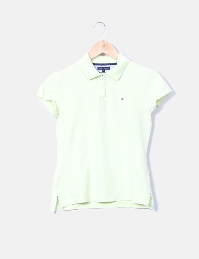 Polo slim fit flúor Tommy Hilfiger