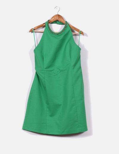 Vestidos verdes zara