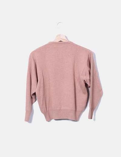 Jersey rosa de manga larga