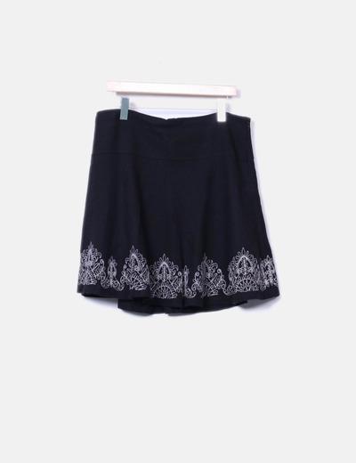 Jupe noire Promod