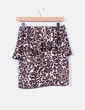 Mini falda animal print Clp