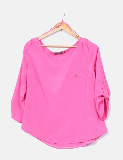 23d5f049a Primark Camisa rosa fucsia (descuento 82%) - Micolet